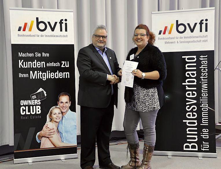 BVFI Urkundenübergabe